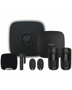 Ajax DoubleDeck Wireless Camera Starter Kit 1 - Black (AJA-20566)
