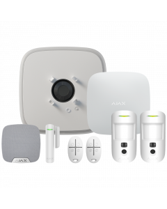 Ajax DoubleDeck Wireless Camera Starter Kit 1 - White (AJA-20567)