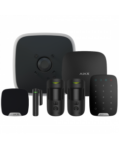 Ajax DoubleDeck Wireless Camera Starter Kit 3 - Black (AJA-20574)