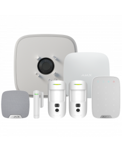 Ajax DoubleDeck Wireless Camera Starter Kit 3 - White (AJA-20575)