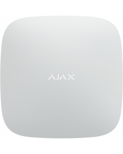 Ajax Hub2 Surveillance Control Panel - Dual GSM & Ethernet - White (AJA-14910)