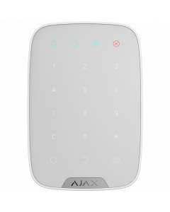 Ajax Keypad Wireless Arming Station - White (AJA-8706)