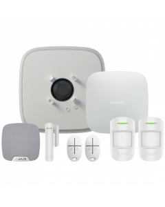 Ajax DoubleDeck Hub Plus Wireless Starter Kit 1 - White (AJA-20565)