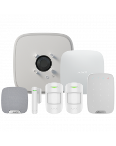 Ajax DoubleDeck Wireless Starter Kit 3 - White (AJA-20571)