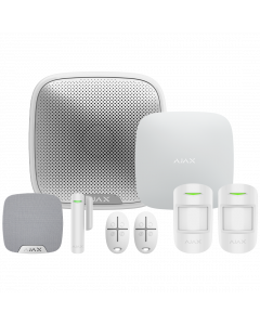Ajax Wireless Starter Kit 1 Plus - White (AJA-16635)