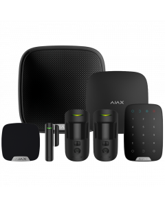 Ajax Wireless Camera Starter Kit 3 - Black (AJA-17737)