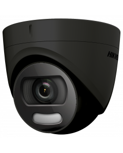 Hikvision ColorVu 4in1 5MP 20m Turret Dome 2.8mm - Black (DS-2CE72HFT-F-2.8MM-BK)