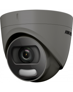 Hikvision ColorVu 4in1 1080P 2MP 20m Turret Dome 2.8mm - Grey (DS-2CE72DFT-F-2.8MM-GR)
