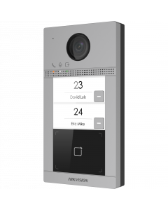 Hikvision IP 2 Button Villa Intercom with Prox (DS-KV8213-WME1)