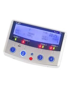 GJD DigiZone 4 Zone Lighting Controller & Enunciator - Silver (GJD910)