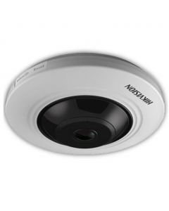 Hikvision Turbo 5MP 10-20m 180° Fisheye with Microphone 1.1mm (DS-2CC52H1T-FITS)