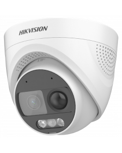 Hikvision ColorVu Turbo-X 2MP 20m Turret Dome with Mic/Alarm 2.8mm (DS-2CE72DF3T-PIRXOS-2.8MM)