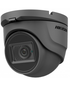 Hikvision AoC 5MP 30m Turret Dome with Microphone 2.8mm - Grey (DS-2CE76H0T-ITMFS-2.8MM-GR)