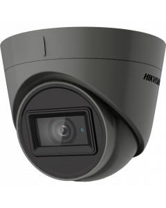 Hikvision AoC 5MP 40m Turret Dome with Microphone 2.8mm - Grey (DS-2CE78H0T-IT3FS-2.8MM-GR)