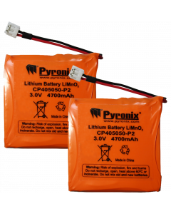 Pyronix Enforcer Lithium Sounder Battery for DELTA-MOD-WE - Pack of 2 (ENF-BATT-ES1)
