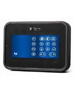 Visonic PG2 PowerMaster KP-160 Wireless Touchscreen Prox Keypad - Black (0-102719)