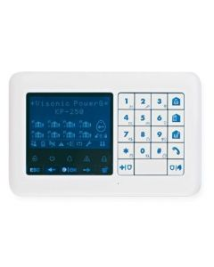 Visonic PG2 PowerMaster KP-250 Wireless LCD Prox Keypad - White (0-103193)