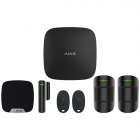 Ajax Hub Plus Wireless Starter Kit 2 - Black (AJA-16636)