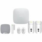 Ajax Hub2 Wireless Camera Starter Kit 2 - White (AJA-17736)