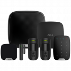 Ajax Hub2 Wireless Camera Starter Kit 3 - Black (AJA-17737)