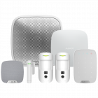 Ajax Hub2 Wireless Camera Starter Kit 3 - White (AJA-17738)