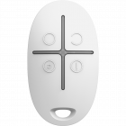 Ajax SpaceControl Wireless Keyfob - White (AJA-6267)