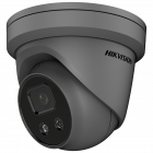 Hikvision IP Acusense DarkFighter 4MP 30m Turret Dome with Mic/Speaker/Alarm 2.8mm - Grey (DS-2CD2346G2-ISU/SL-2.8MM-GR)