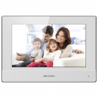 "Hikvision IP Intercom 7"" Touchscreen Monitor - White (DS-KH6320-WTE1-W)"