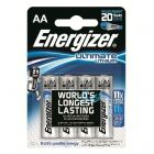 Energizer AA 1.5v Lithium Battery - Pack of 4 (EN-AA-PK4)