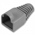 RJ45 Strain Relief Boot - Pack of 50 - Grey (CON-RJ45-BOOT-GR-PK50)